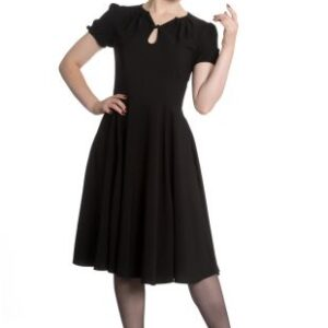 Black Hell bunny swing dress with short sleeves