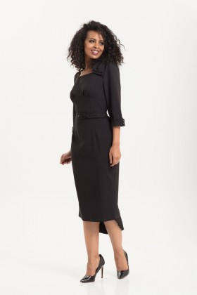 Voodoo Vixen Black fitted dress